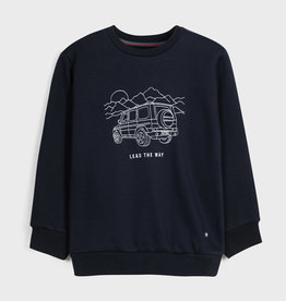Mayoral Embroidered Pullover