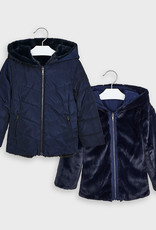 Mayoral Reversible Jacket Fur