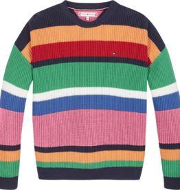 Tommy Hilfiger Multi Stripe Sweater