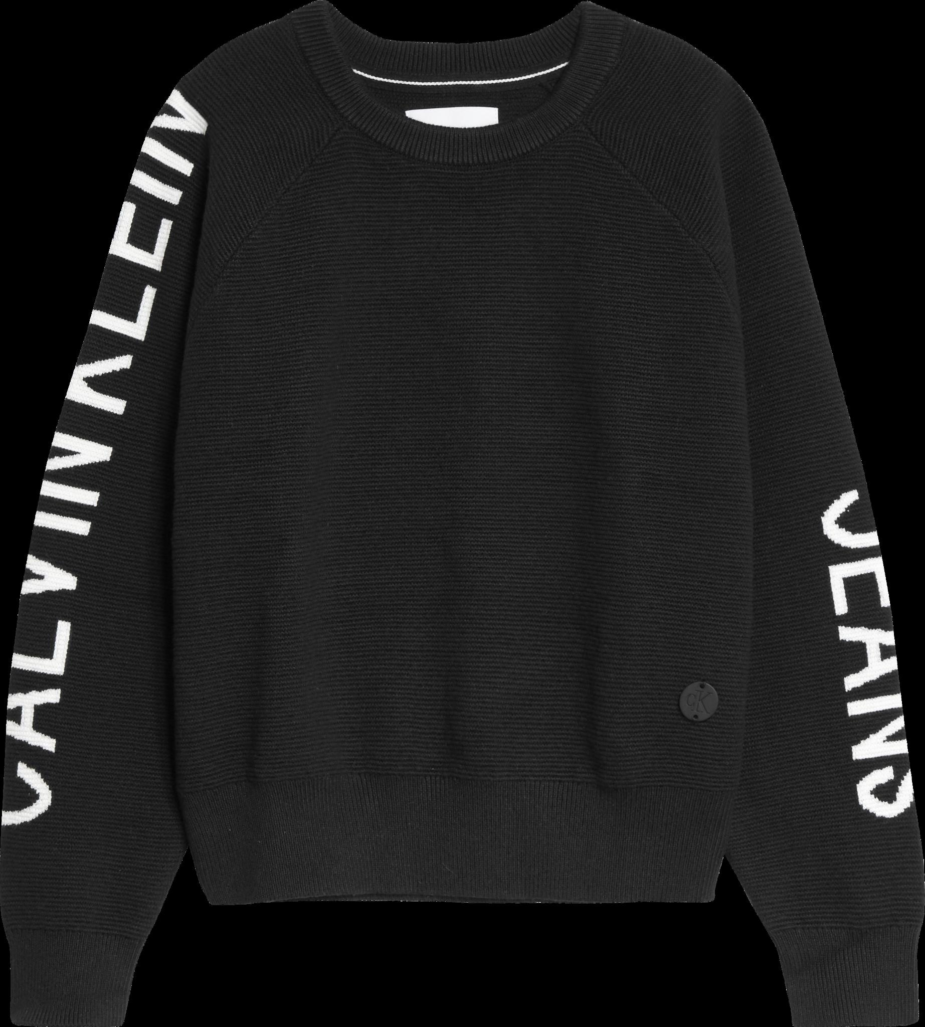 Calvin Klein Logo Intarsia Sweater