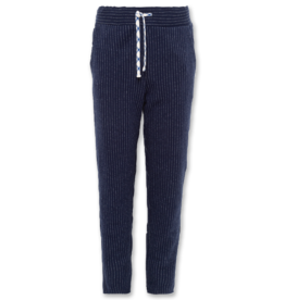 Ao76 Navy Striped Pants