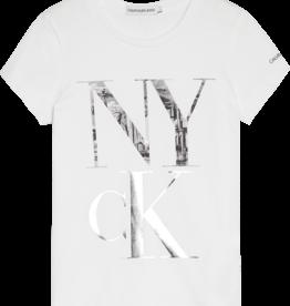 Calvin Klein NY CK Print