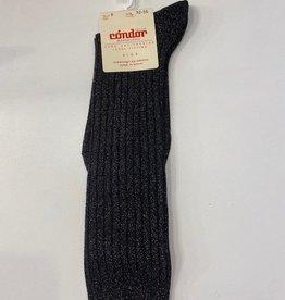 Condor Lurex Rib knee High Sock