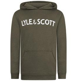 Lyle & Scott Text Hoodie