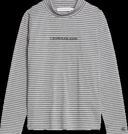 Calvin Klein Striped Lurex L/S