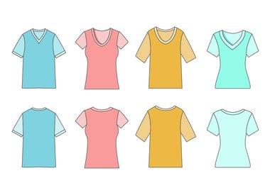 T-Shirt lange / korte mouw