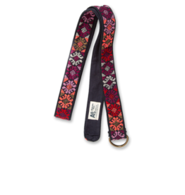 Ao76 Embroidered Belt