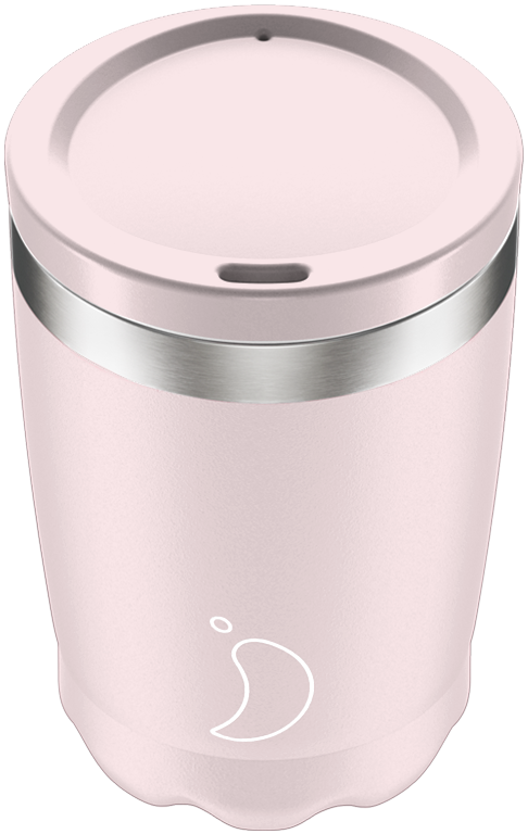 Chilly's 340ml Blush Pink Coffee Cup