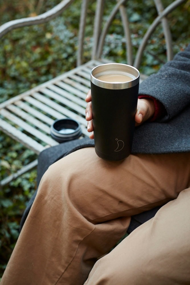 Chilly's 500ml Monochrome Black Coffee Cup