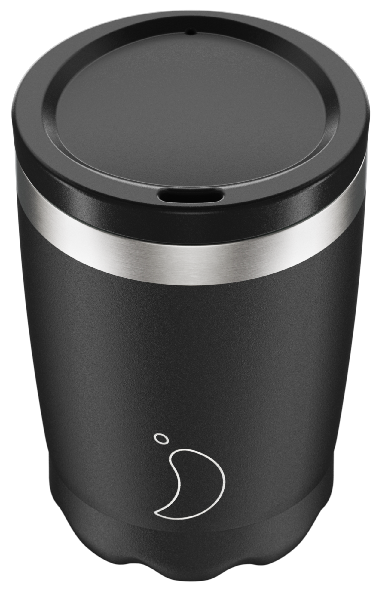 Chilly's 340ml Monochrome Black Coffee Cup