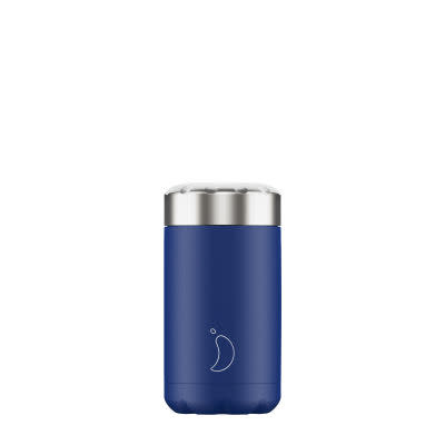 Chilly's 500ml Matte Blue Food Pot