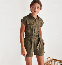 Mayoral Playsuit With Belt Ecofriends