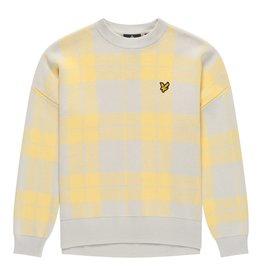 Lyle & Scott Check Jumper
