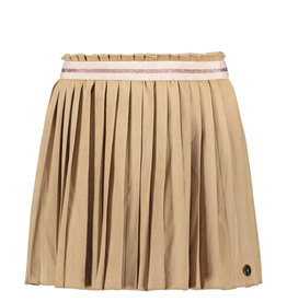 Like Flo Suede Plisse Skirt