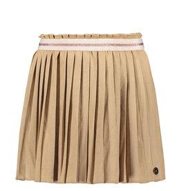 Suede Plisse Skirt