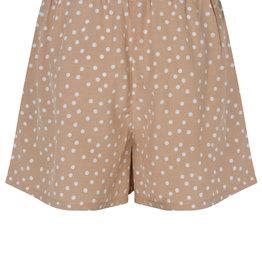 Dot Print organic Shorts