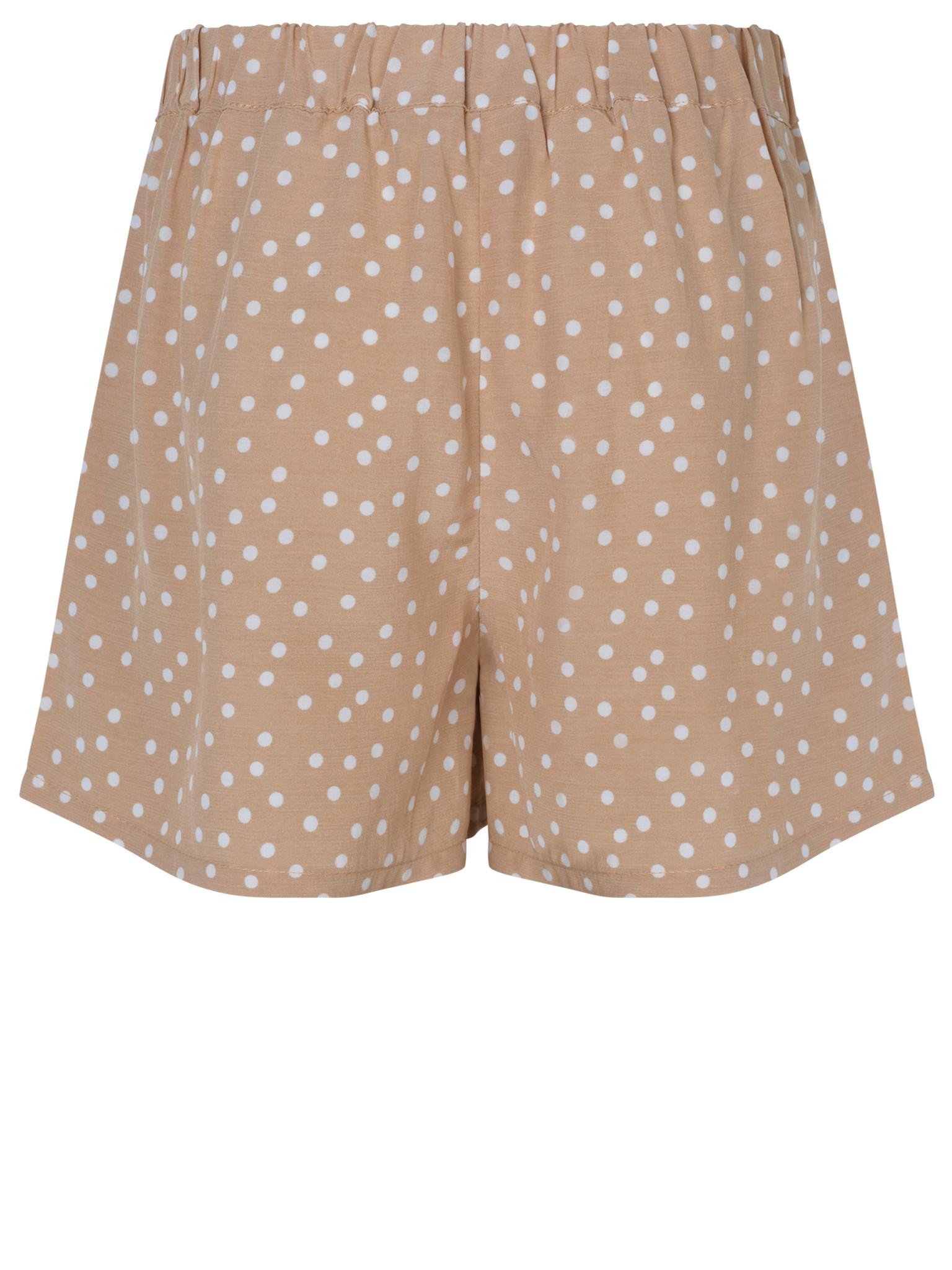 Rosemunde Dot Print organic Shorts