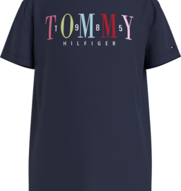 Tommy Hilfiger Multi Text Sateen