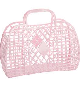 RETRO BASKET - Large Pink