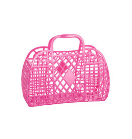 RETRO BASKET - Small Berry Pink