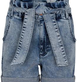 Nahle High Waist Denim Shorts