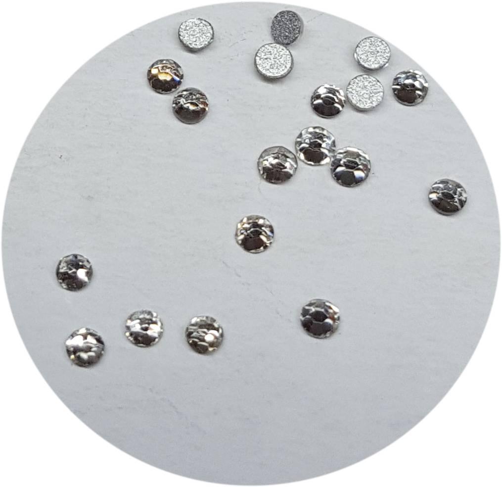 Clear Glas-Kristall SS3. 100 Stk.