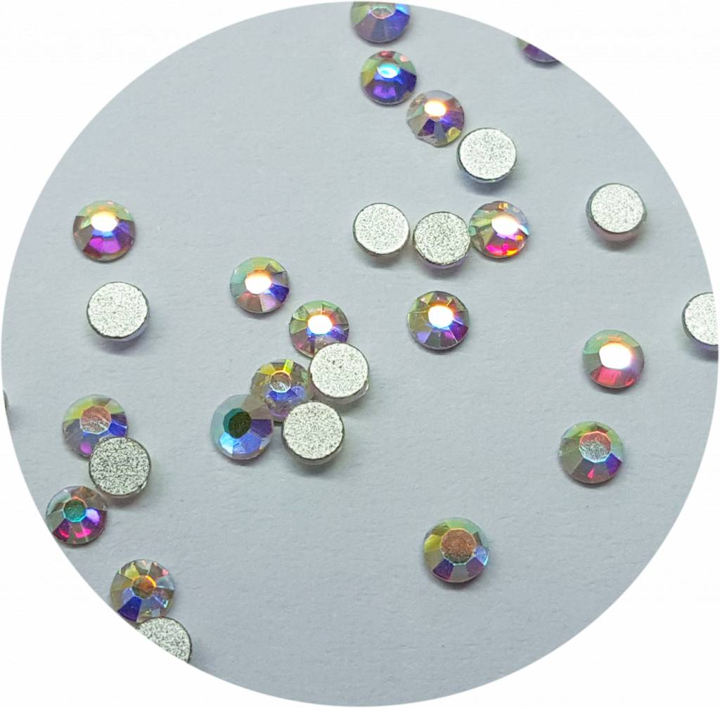 Regenbogen Glas-Kristall SS3. 100 Stk.