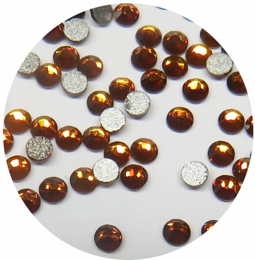 Caramel Glas-Kristall SS5. 100 Stk.