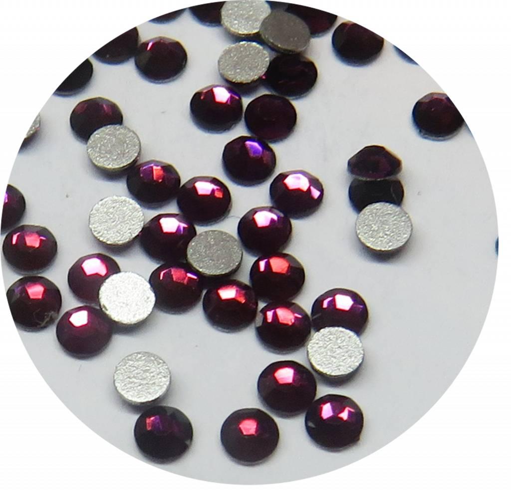 Amethyst Glas-Kristall SS5. 100 Stk.