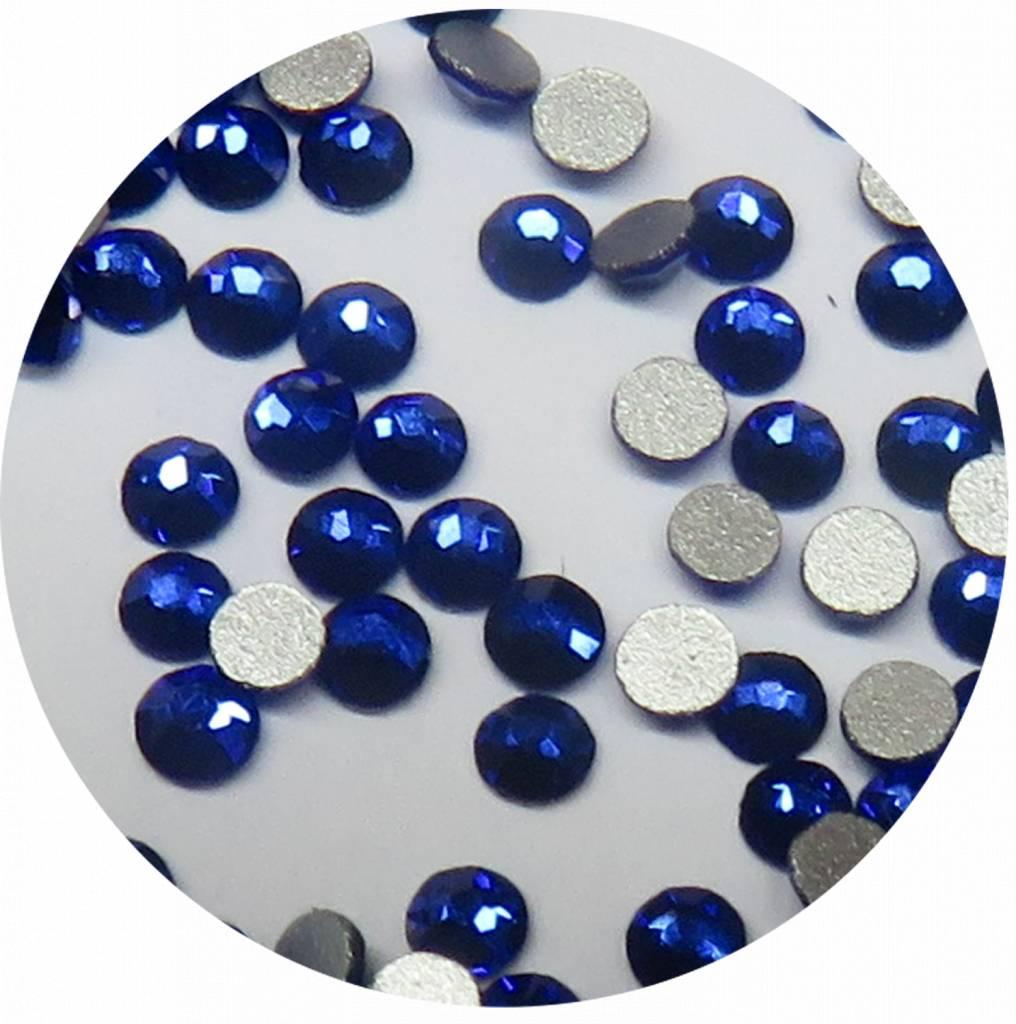 Royalblau Glas-Kristall SS5. 100 Stk.