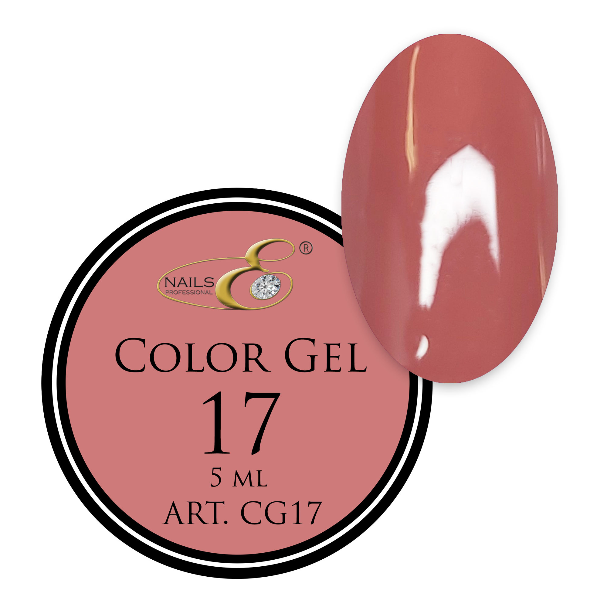 NailsE Professional NailsE Color Gel 17 . 5ml .