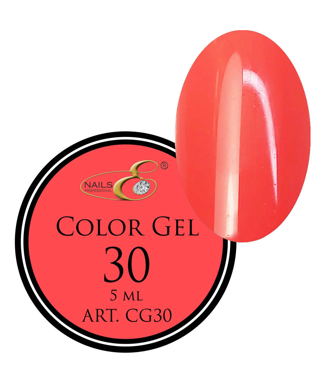 NailsE Professional NailsE Color Gel 30 Neonorange. 5ml .