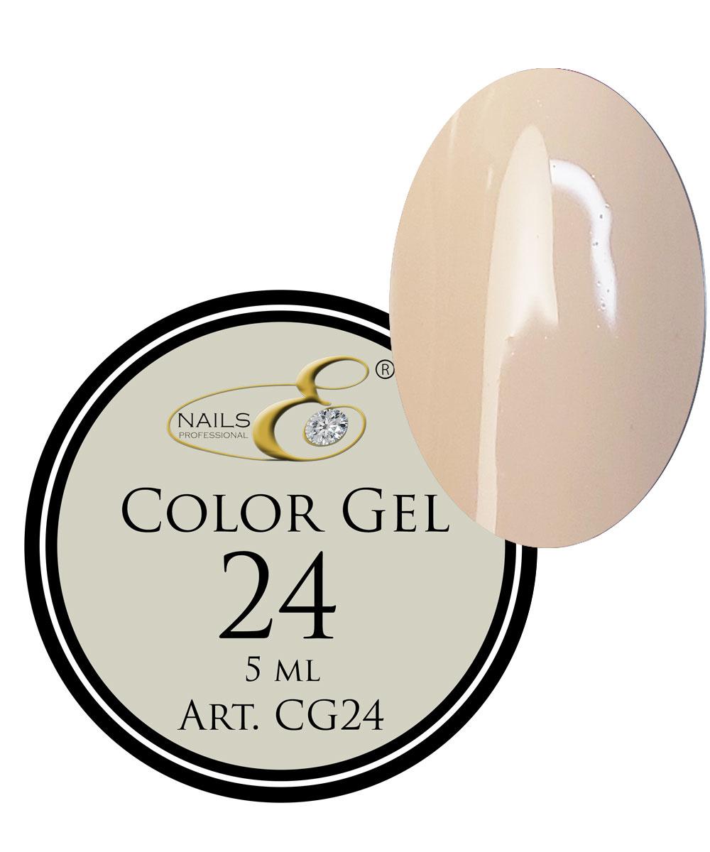 NailsE Professional NailsE Color Gel 24 Helles Beige. 5ml .