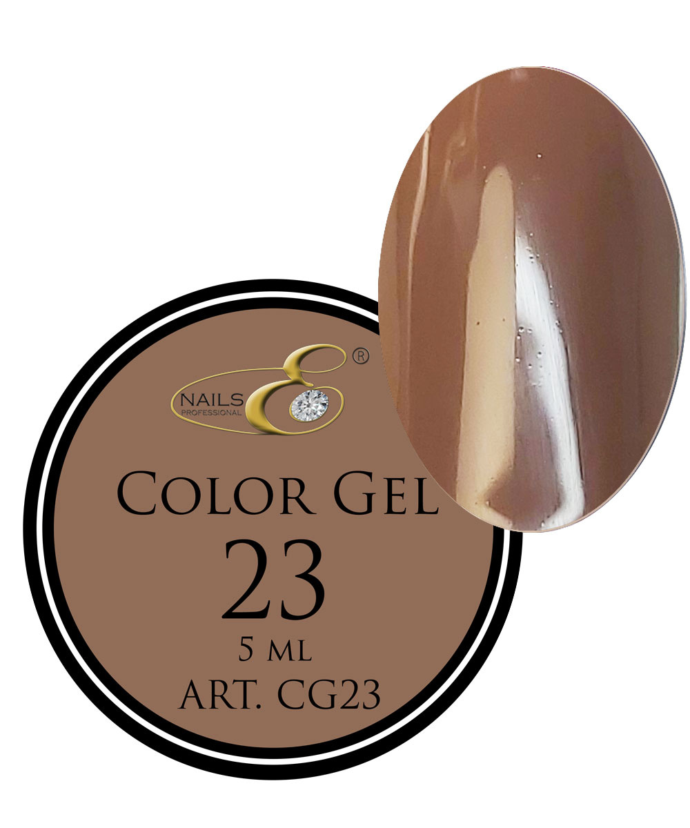NailsE Professional NailsE Color Gel 23 Cappuchino. 5ml .
