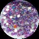 Violett Siam. Glas-Kristall SS5. 100 Stk.