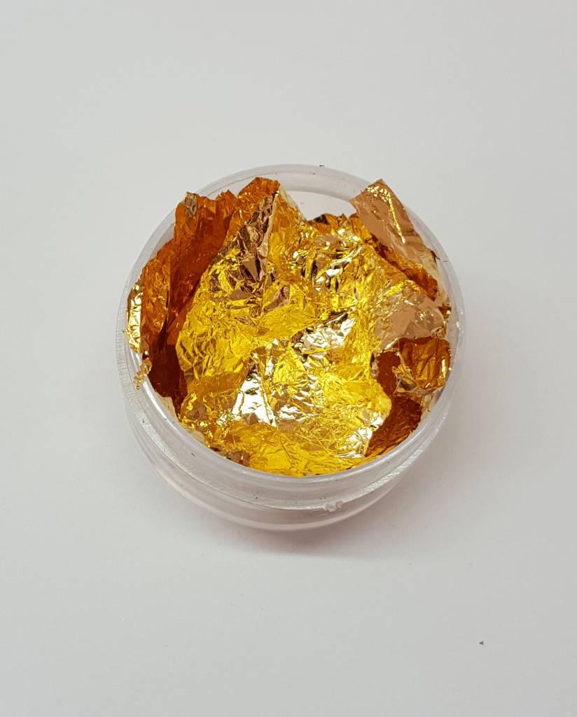 Goldblatt in 3 Farben