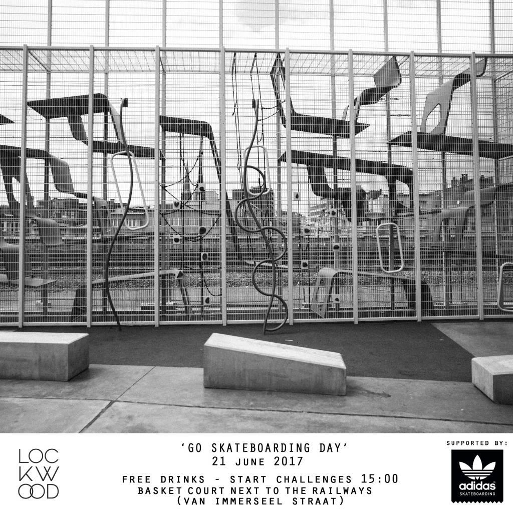 Lockwood GO SKATEBOARDING DAY 2017 - Ondersteund door adidas