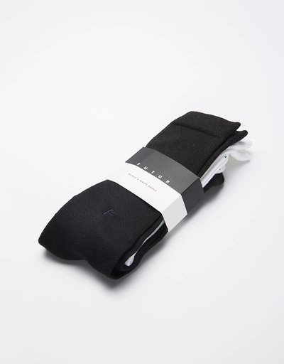 Futur Socks White/Black