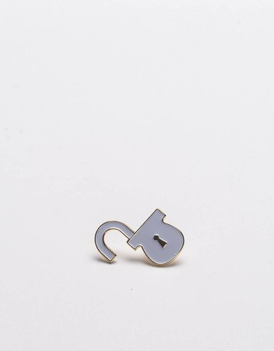 Lockwood Pin White Gold