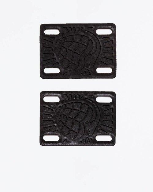 Black Riser Pads 12 mm