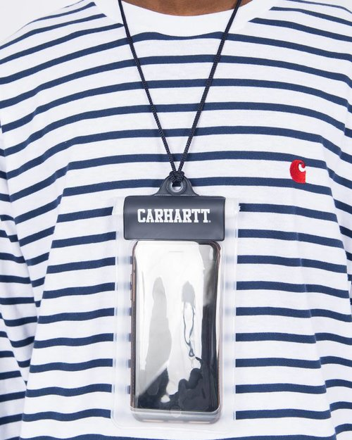 Carhartt Carhartt Waterproof Phone Pouch PVC Transparant
