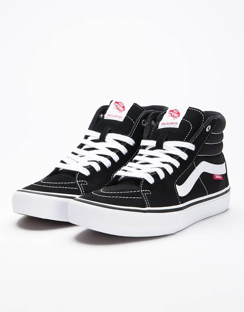 Vans SK8-HI Pro Black White - Lockwood Skateshop d5ef245648cd
