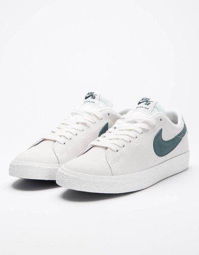 Nike SB Zoom Blazer Low summit white deep jungle ad37c4e984de7