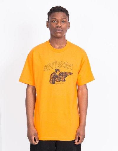 Evisen Dirty Evi Taro T-shirt Orange