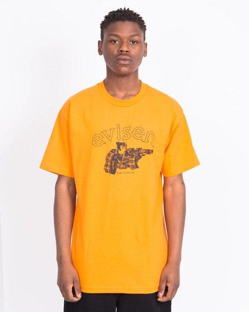 Evisen Evisen Dirty Evi Taro T-shirt Orange
