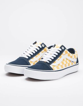 Vans Vans Oldskool Pro Checkerboard Navy/Yellow