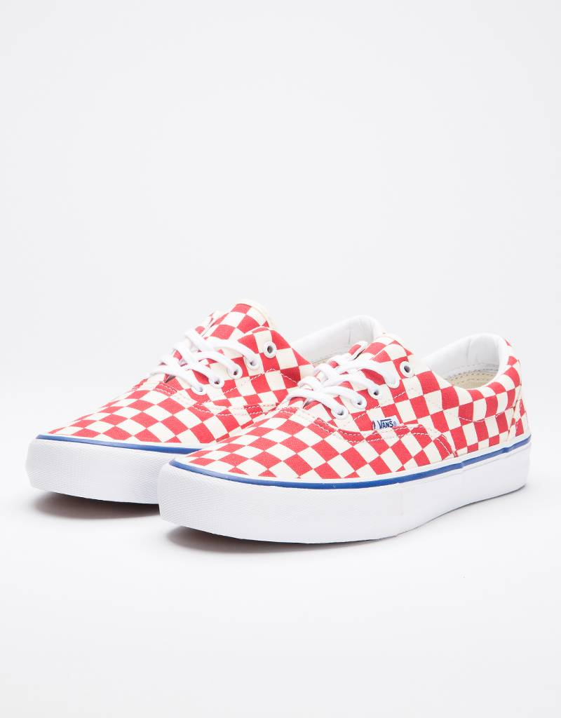 Vans Era Pro Checkerboard Red/White