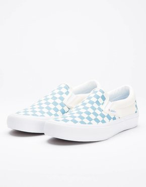 Vans Vans Slipon Pro Checkerboard Captains Blue/Off White