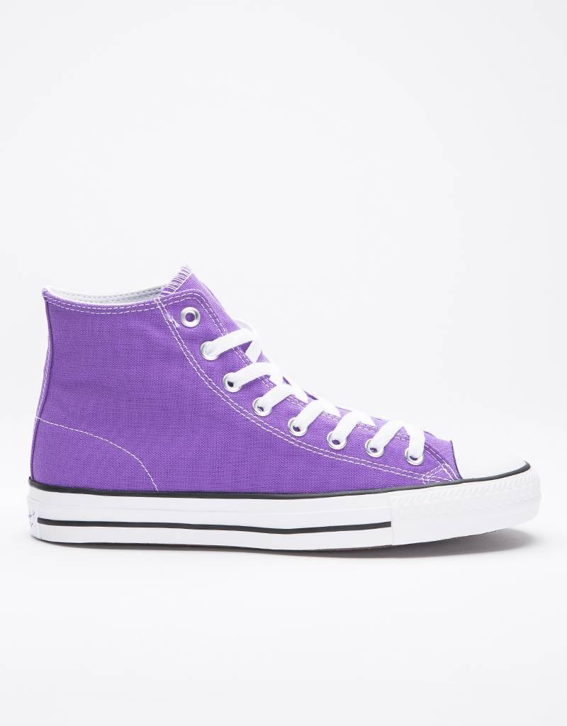 Converse Ctas Pro Hi Purple/White