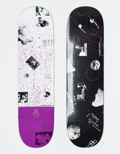"Numbers Mariano Edition 4 8,4"" Deck"